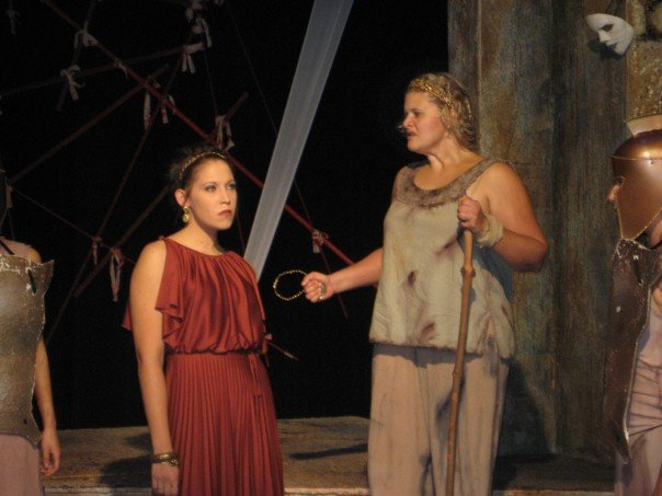 The Trojan Women at Meredith College